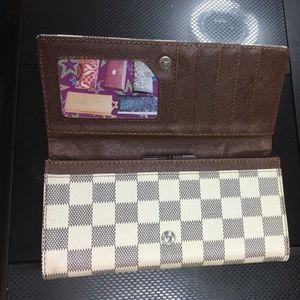 Handmade Bags - Fashion Women white faux pu leather wallet